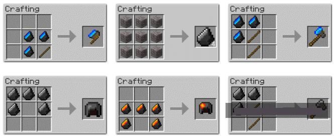 Как сделать зажигалку в маинкрафте